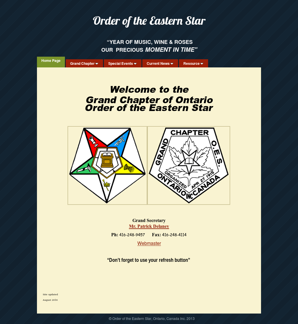 Order Of The Eastern Star Ontario Canada Competitors Revenue And