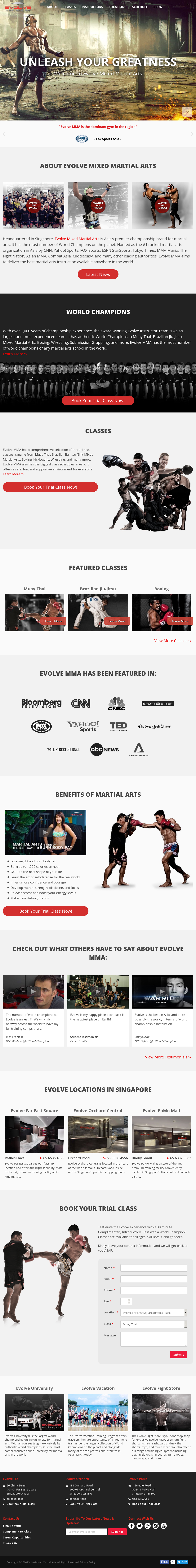Evolve Mma Competitors, Revenue and Employees - Owler