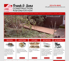 Frank Son S Construction Website History