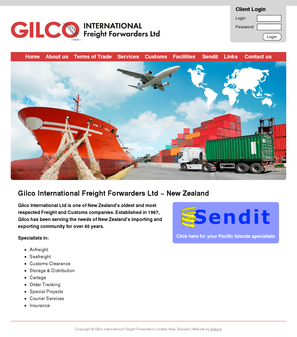 Gilco International Freight Forwarders Competitors, Revenue