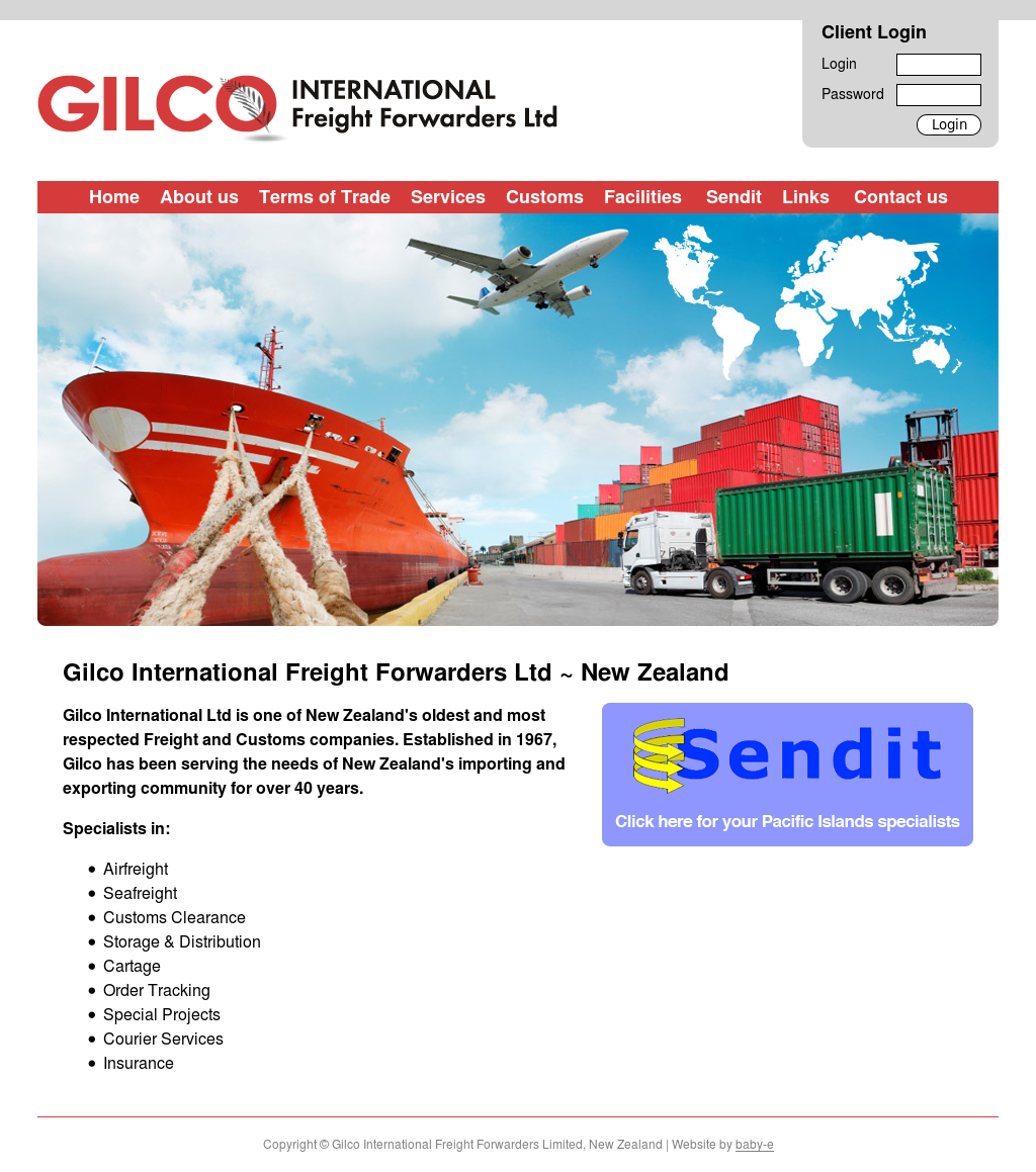 Gilco International Freight Forwarders Competitors, Revenue and