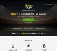DraftKings website history
