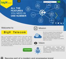 BigV Telecom website history