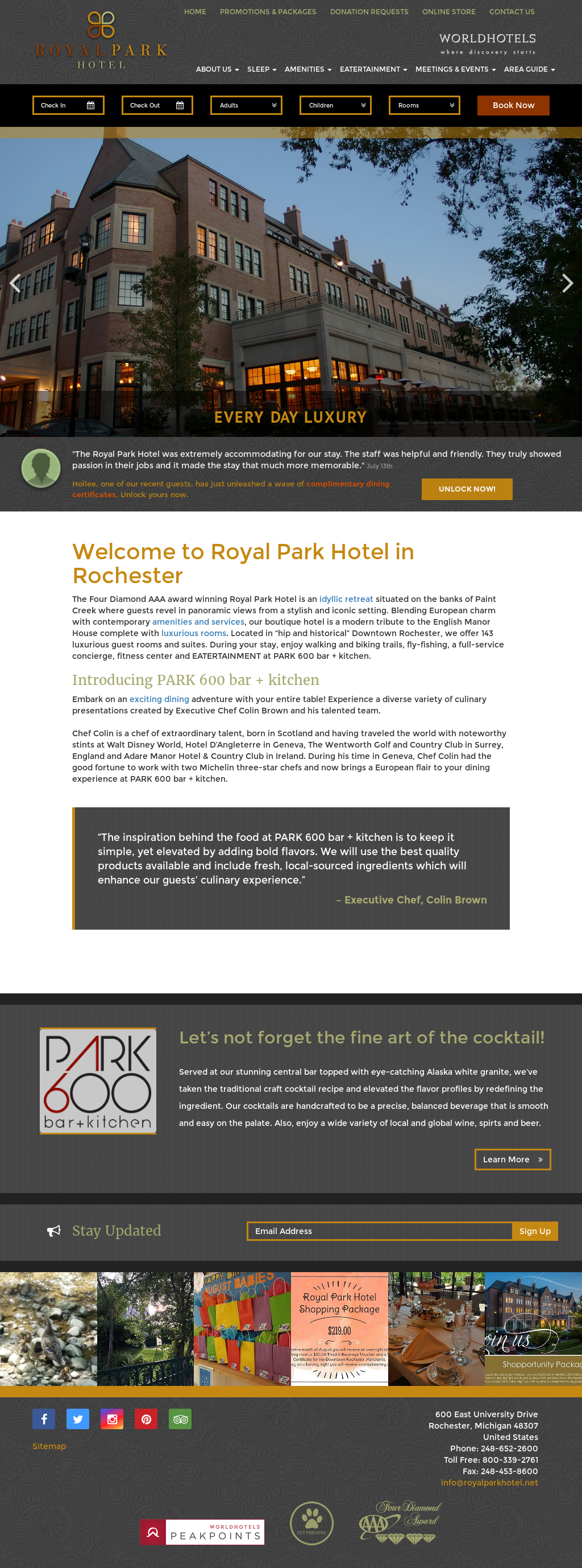 Royal Park Hotel S Competitors Revenue Number Of Employees Funding Acquisitions News Owler Company Profile