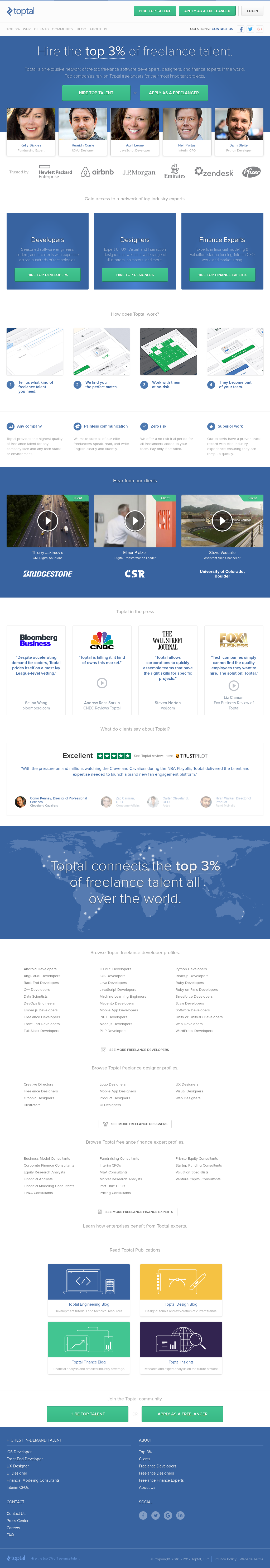 Toptal Competitors, Revenue and Employees - Owler Company Profile