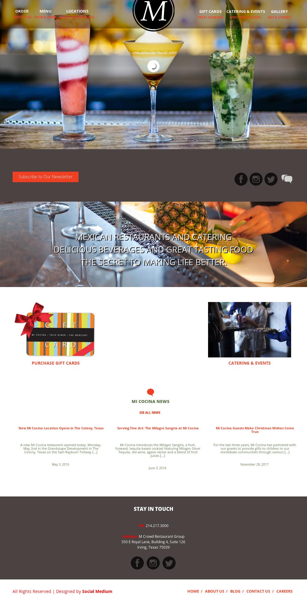 Mi Cocina Restaurants Competitors, Revenue and Employees - Owler ...