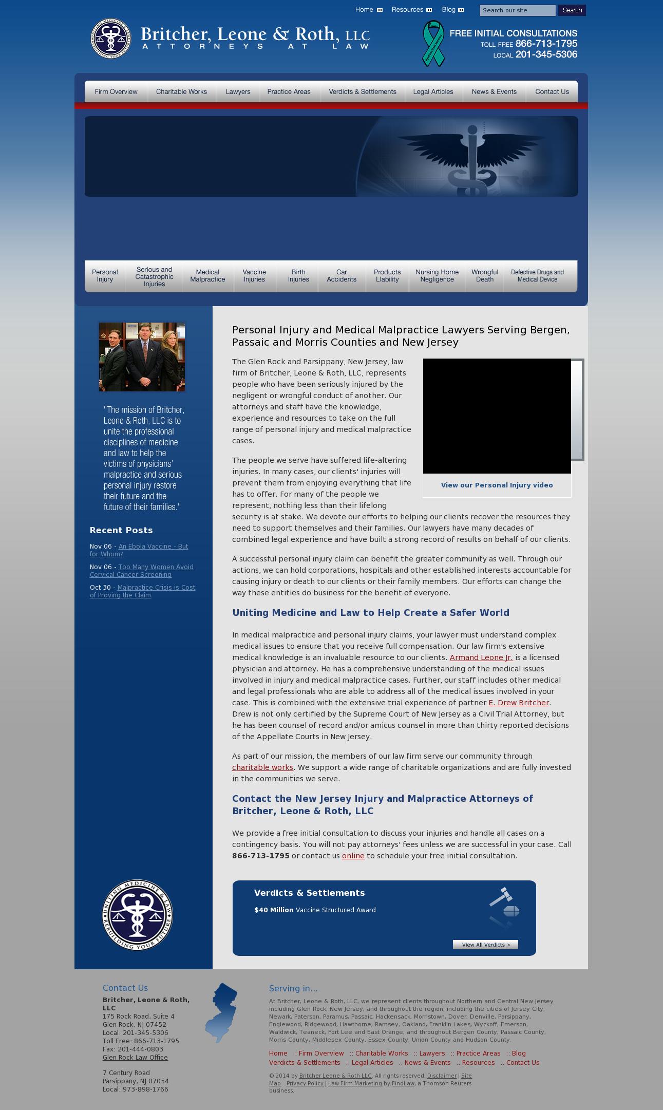 Britcher, Leone & Roth Law Firm Competitors, Revenue and