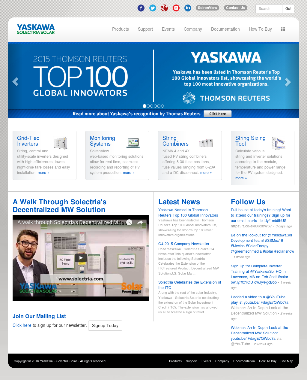 Yaskawa Solectria Solar Competitors, Revenue and Employees