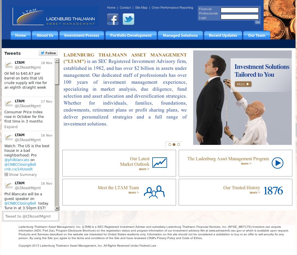 ladenburg thalmann asset management Ladenburg Thalmann Asset Management Competitors, Revenue and ...