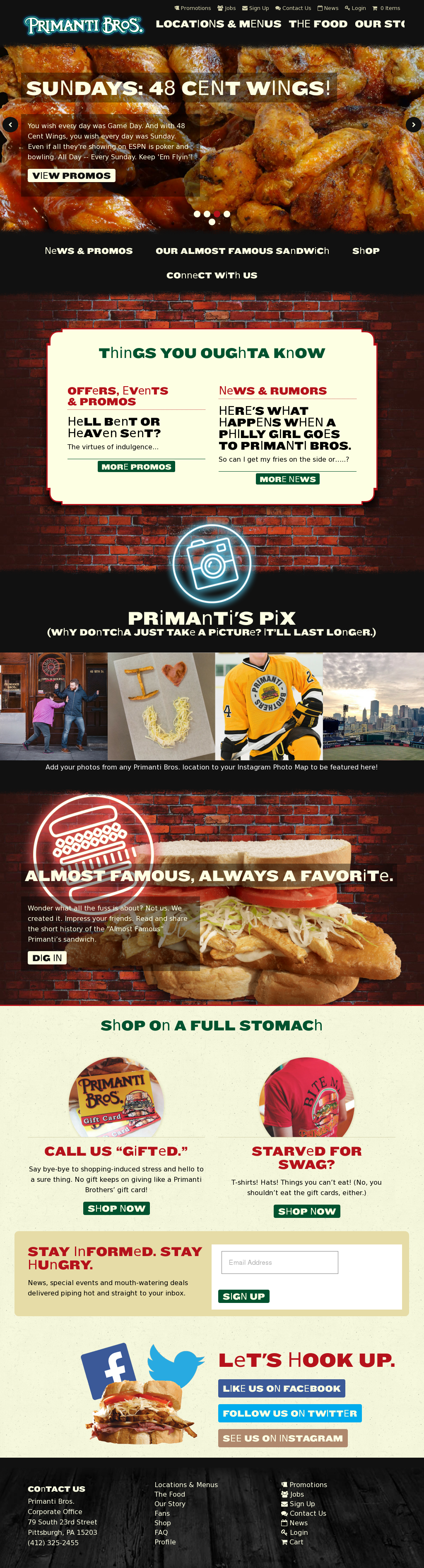 primanti bros competitors revenue and employees owler company profile