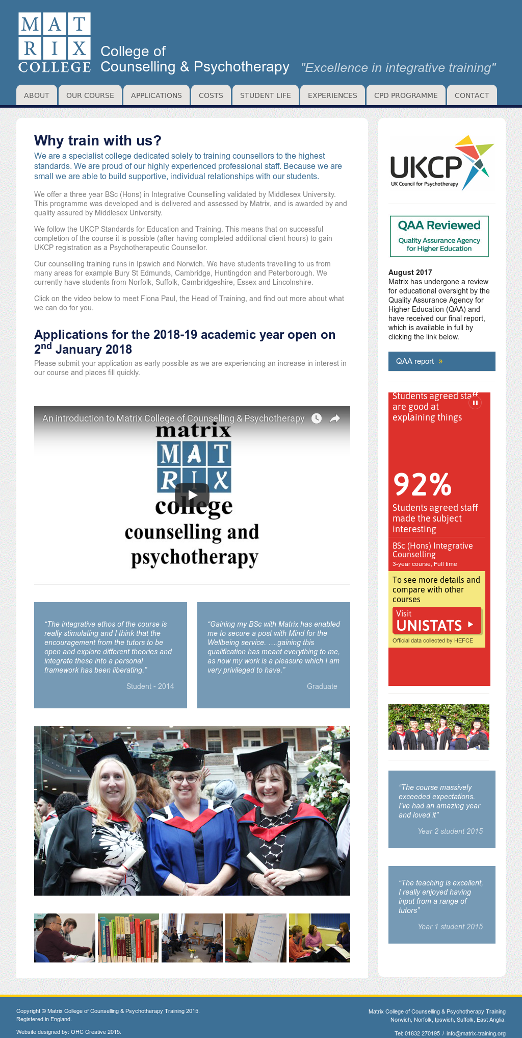 psychotherapy matrix Psychotherapy supervision consists of conversation in which an expert on interpersonal communication (the supervisor) helps an expert on interpersonal communication in-training (the supervisee) develop his or her interpersonal communication skills their talk primarily attends to the supervisee's communicative interactions with patients in .