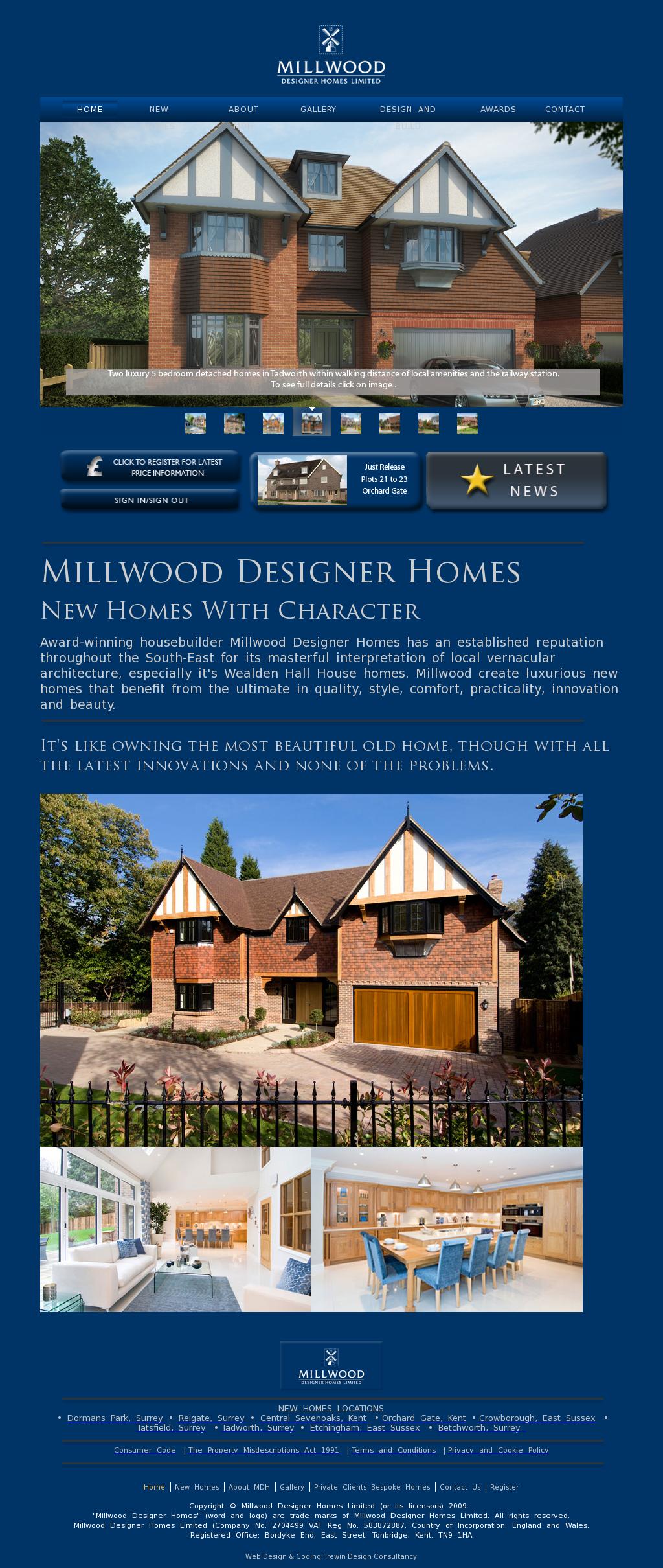 Millwood Designer Homes Competitors
