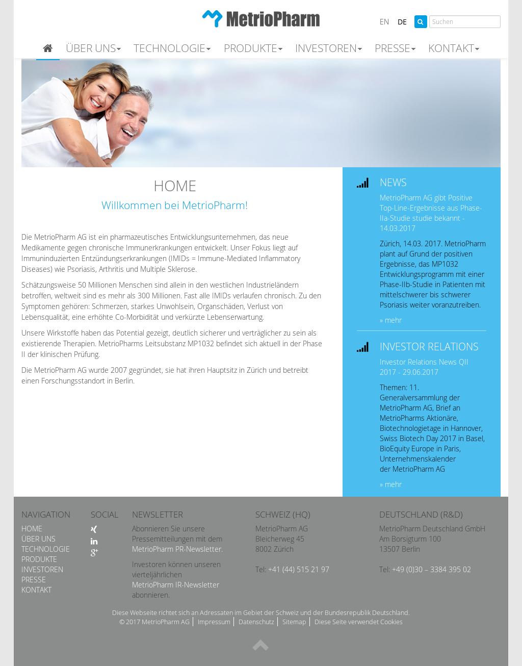 Metriopharm Ag Metriopharm Deutschland Competitors Revenue And