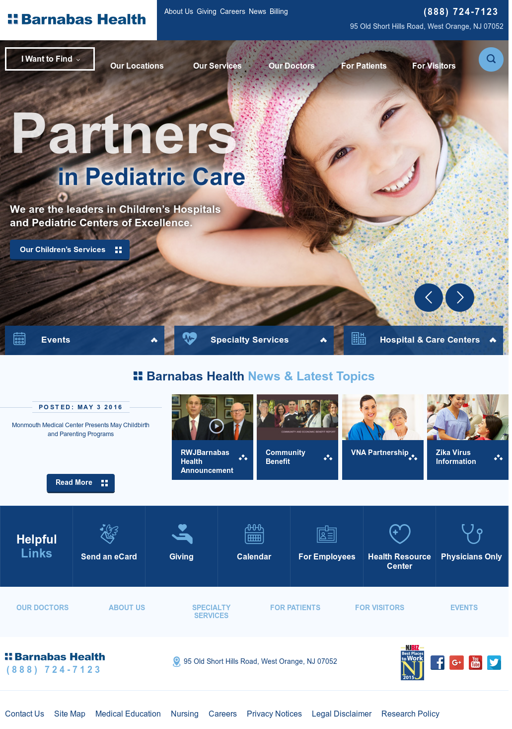 Barnabas Health Competitors, Revenue and Employees - Owler