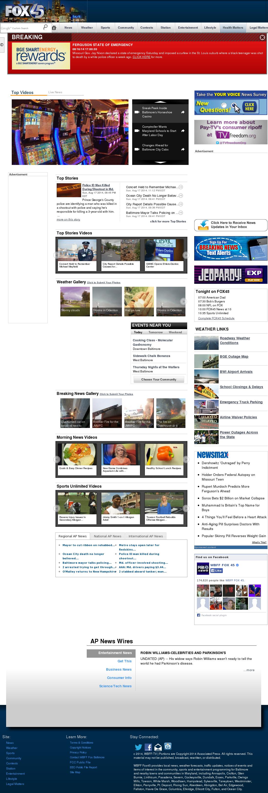 WBFF Fox45 Competitors, Revenue and Employees - Owler Company Profile