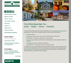 North Forest website history