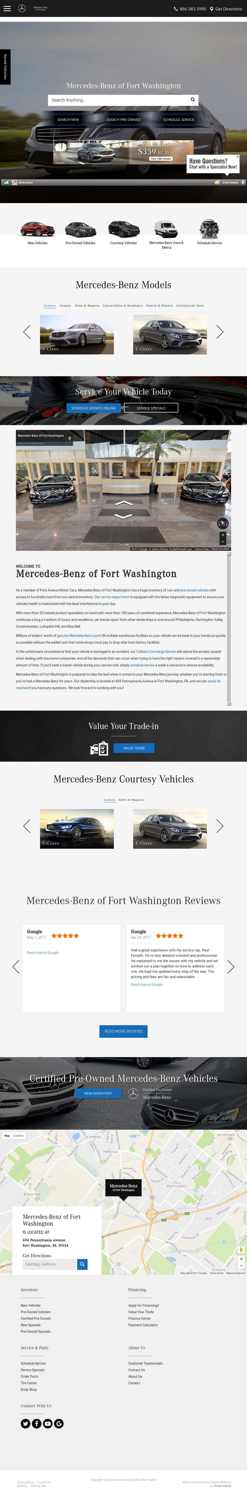 Captivating Mercedes Benz Fort Washington Website History