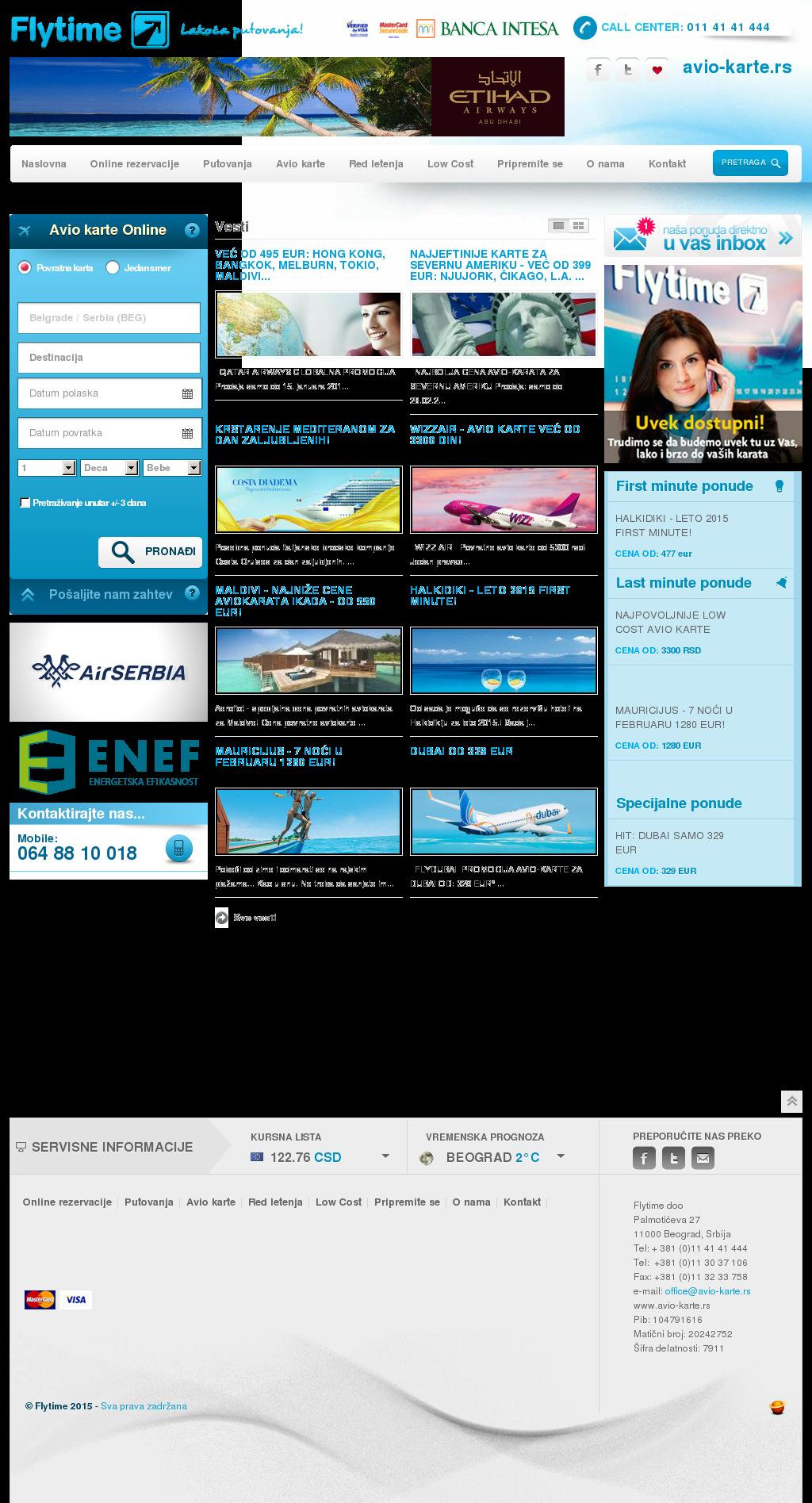 Avio Karte.Flytime Avio Karte Rs Competitors Revenue And Employees