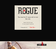 Rogue Brewery website history