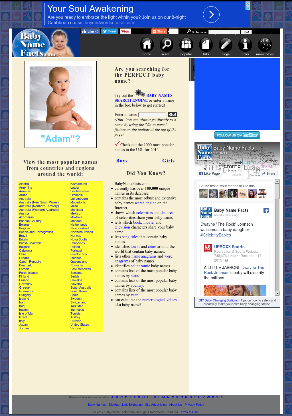 Baby Name Facts Competitors, Revenue and Employees - Owler