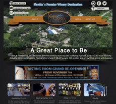Keel and Curley Winery website history