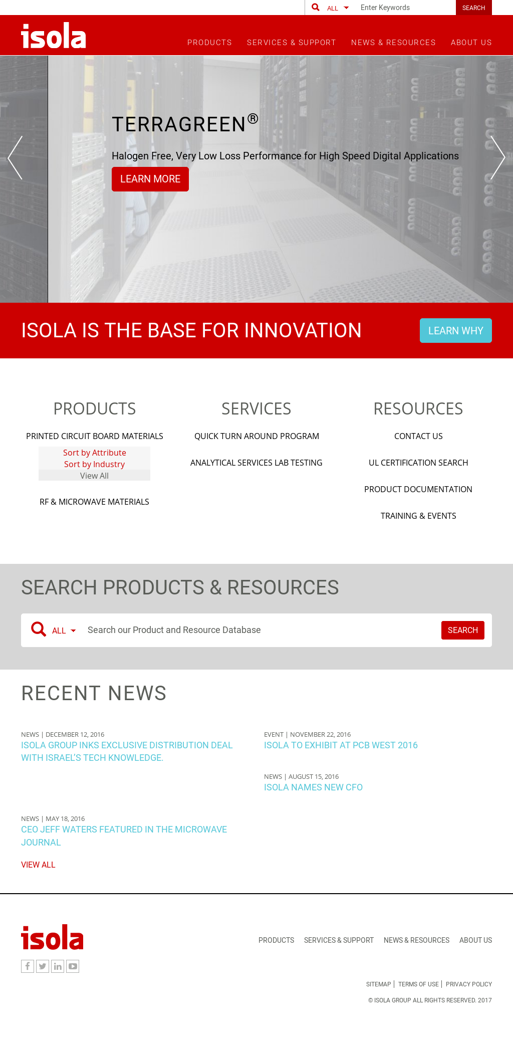 Isola Competitors Revenue And Employees Owler Company Profile Ccl 1015 Fr4 Glass Fiber Board Pcb Circuit Copper Clad Laminate Website History