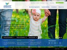 Jubilant Life Sciences website history