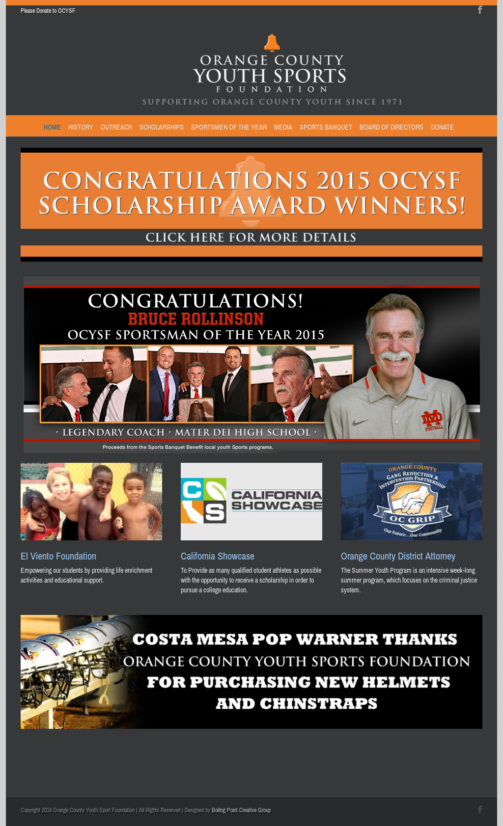 Orange County Youth Sport Foundation Competitors, Revenue and