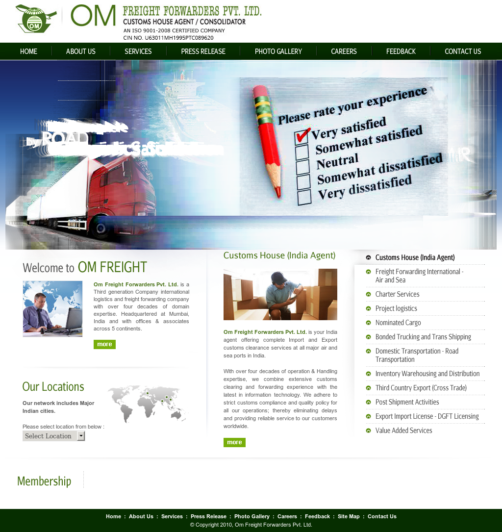 Om Freight Forwarders Competitors, Revenue and Employees - Owler