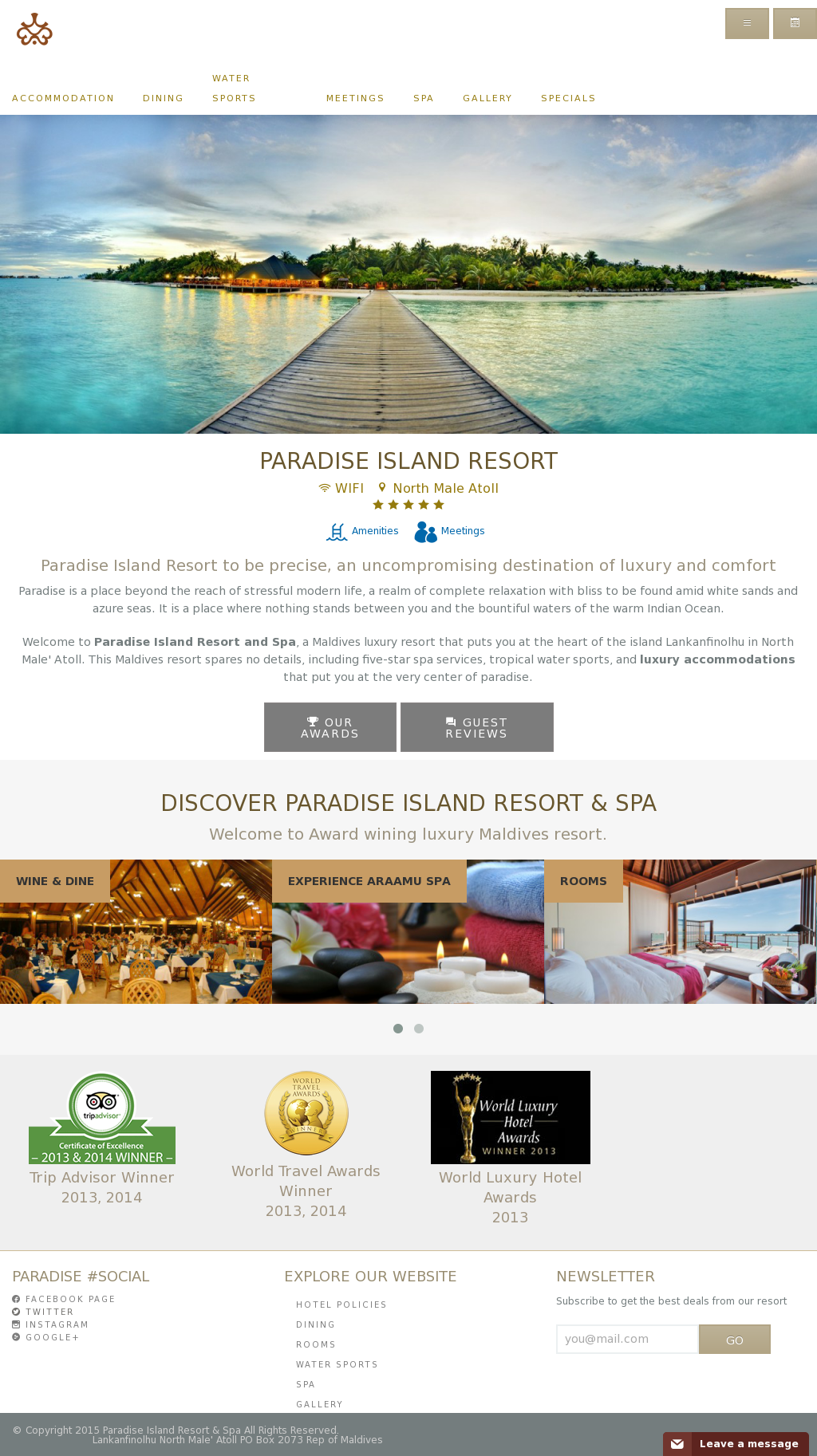 Paradise Island Resort Spa Competitors Revenue And