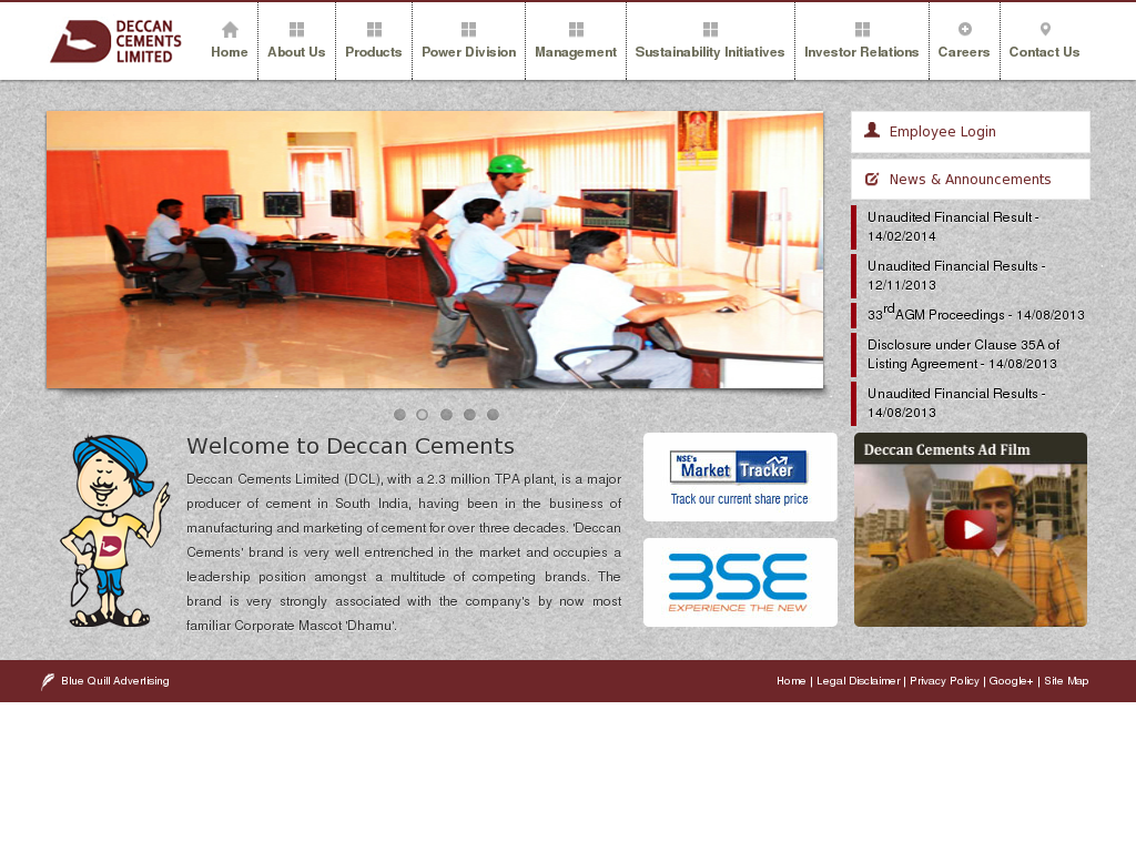 Deccan Cements Competitors Revenue And Employees Owler Company