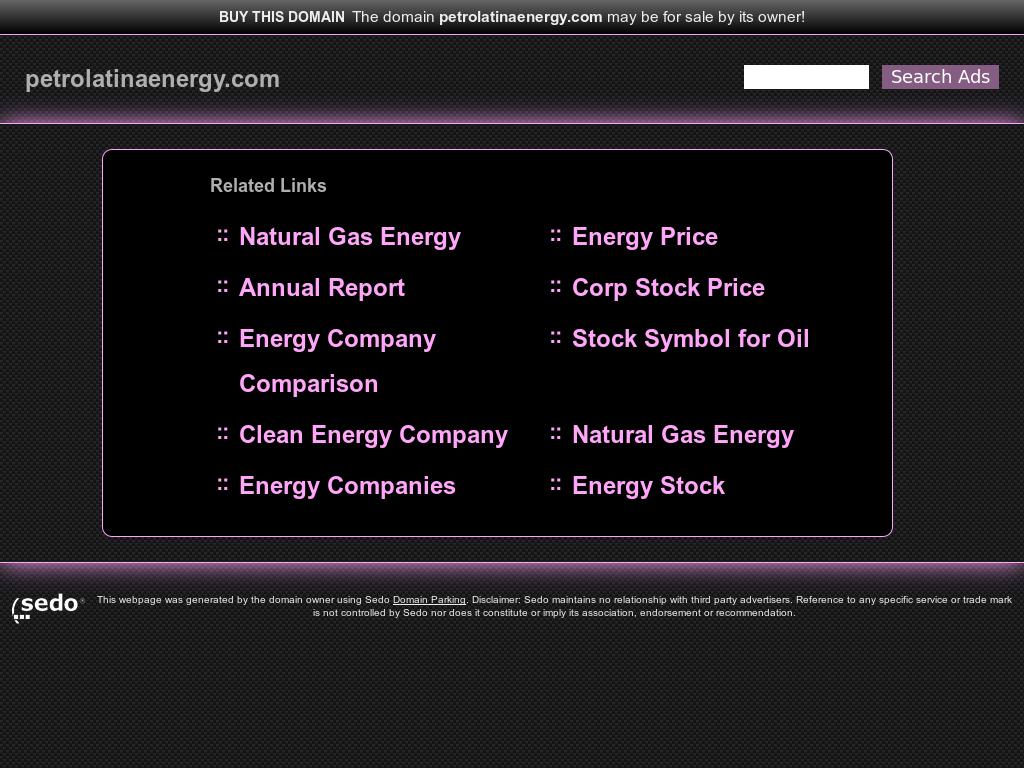Petrolatina Energy Competitors Revenue And Employees Owler
