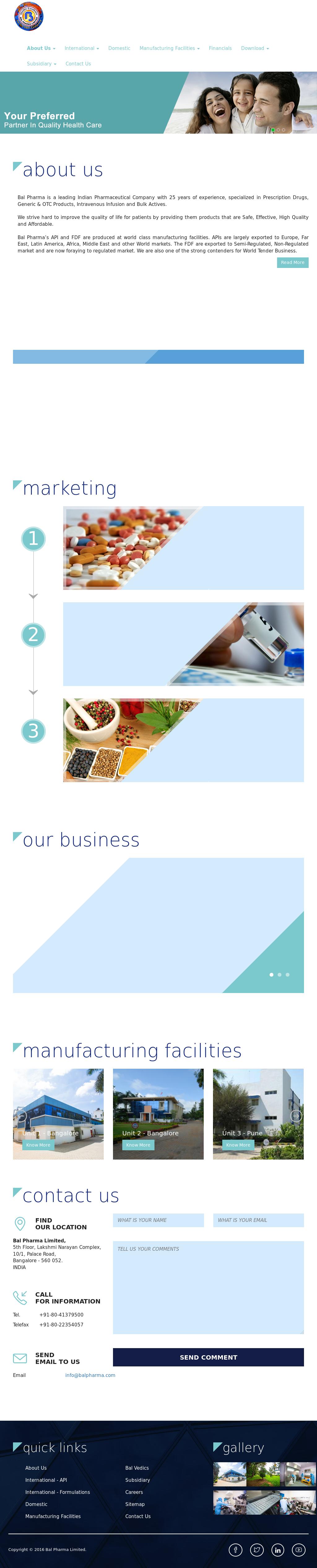 Bal Pharma Competitors, Revenue and Employees - Owler