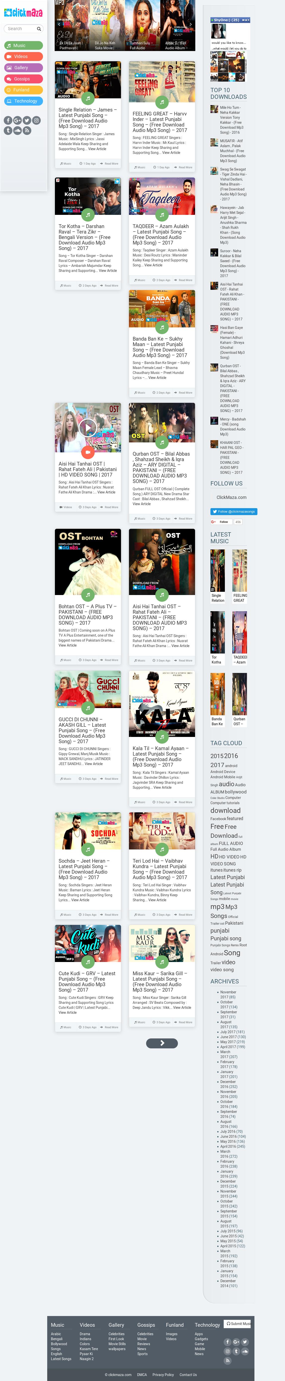 mp3 songs free download pakistani punjabi
