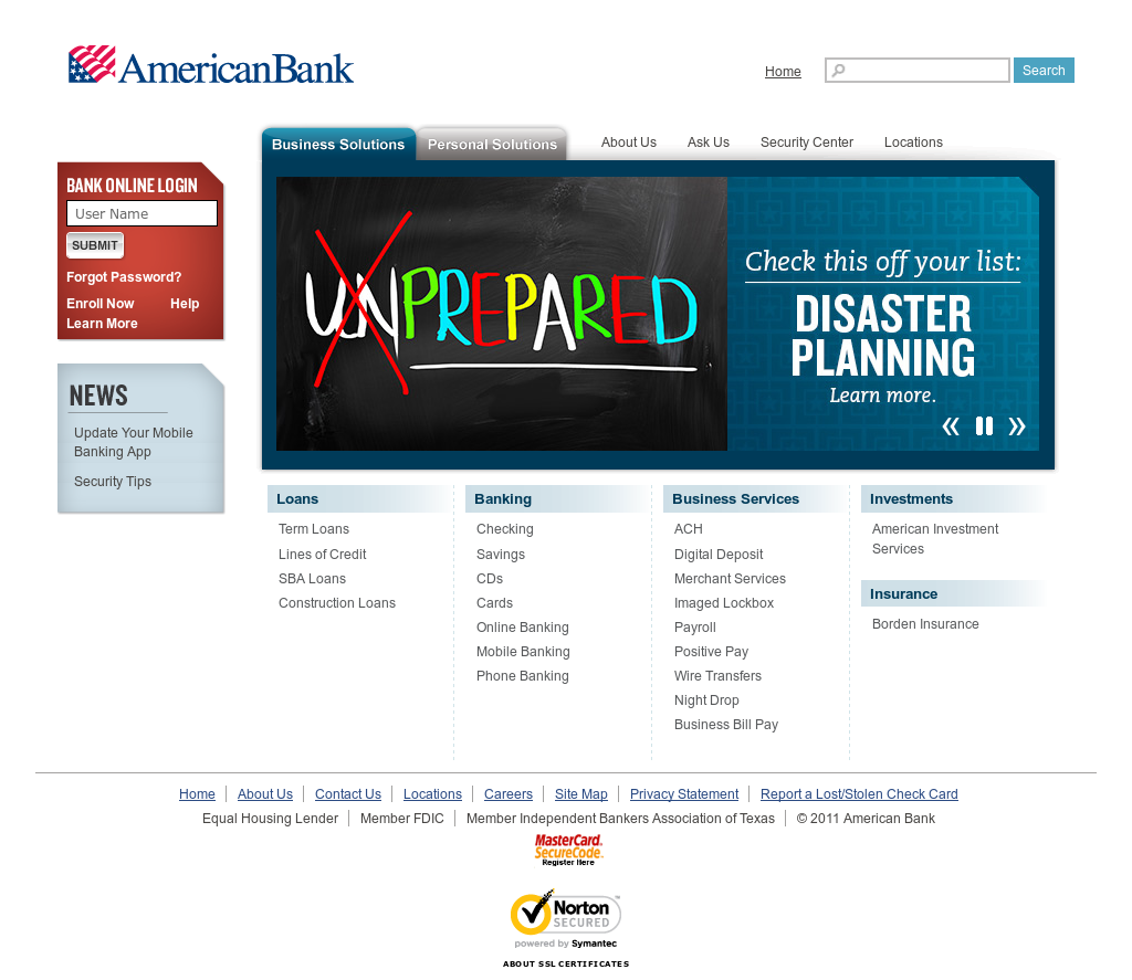 Americanbank Competitors, Revenue and Employees - Owler