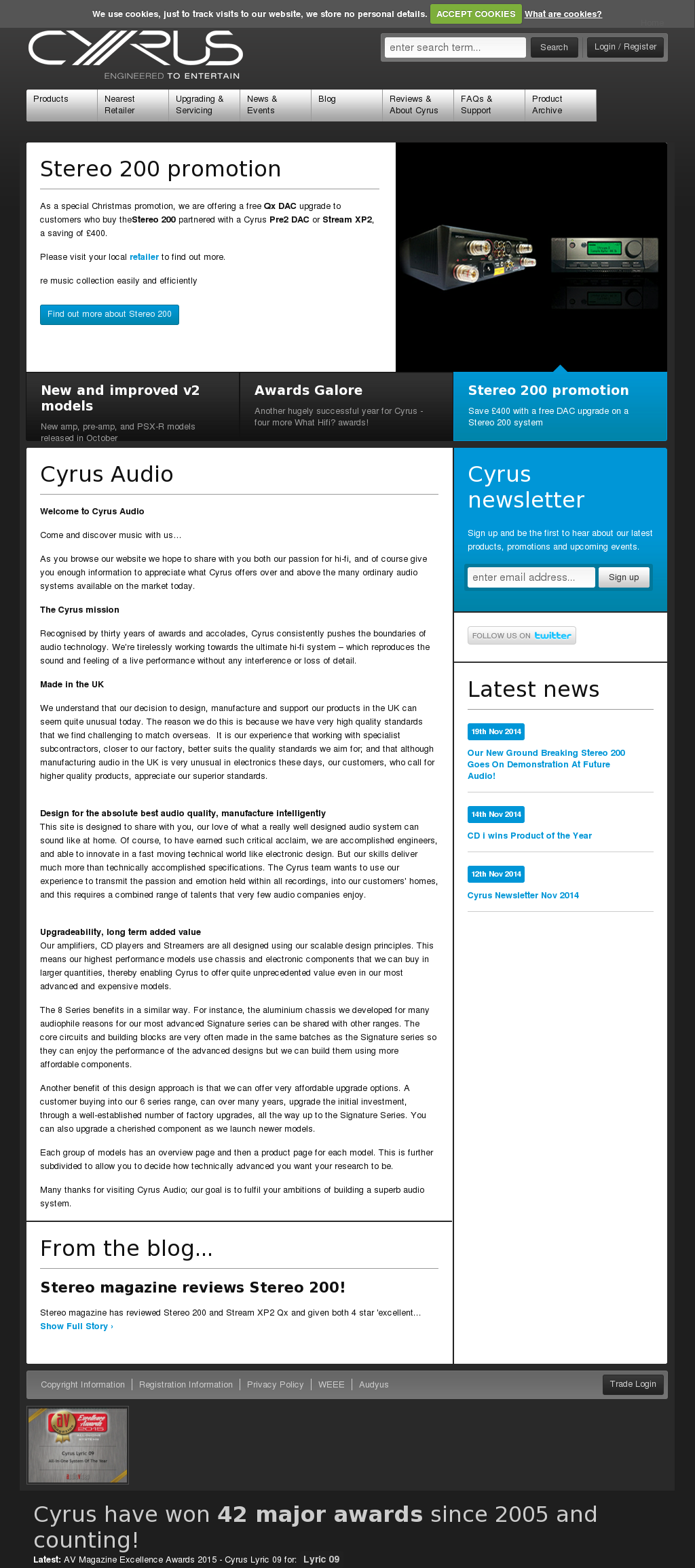 Cyrus Audio Competitors Revenue And Employees Owler Company Profile
