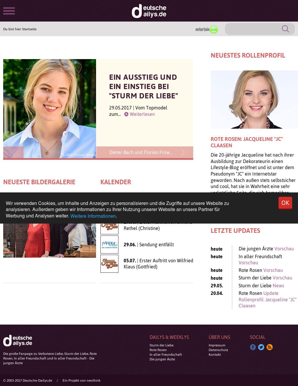 Sturm Der Liebe Deutsche Dailys
