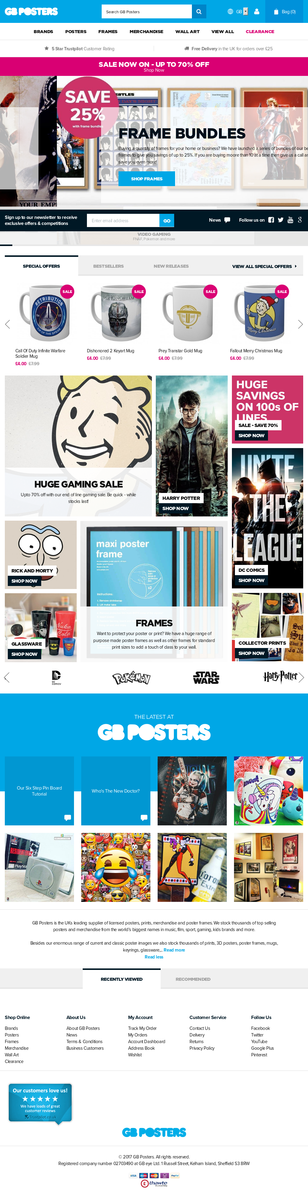 gb posters competitors revenue and employees owler company profile
