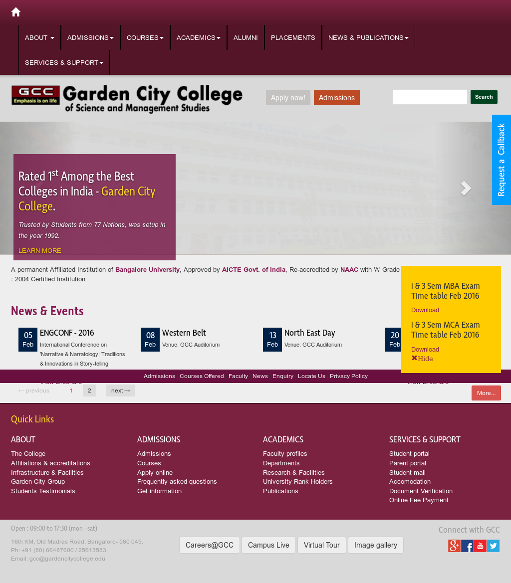 Garden City College Competitors, Revenue and Employees