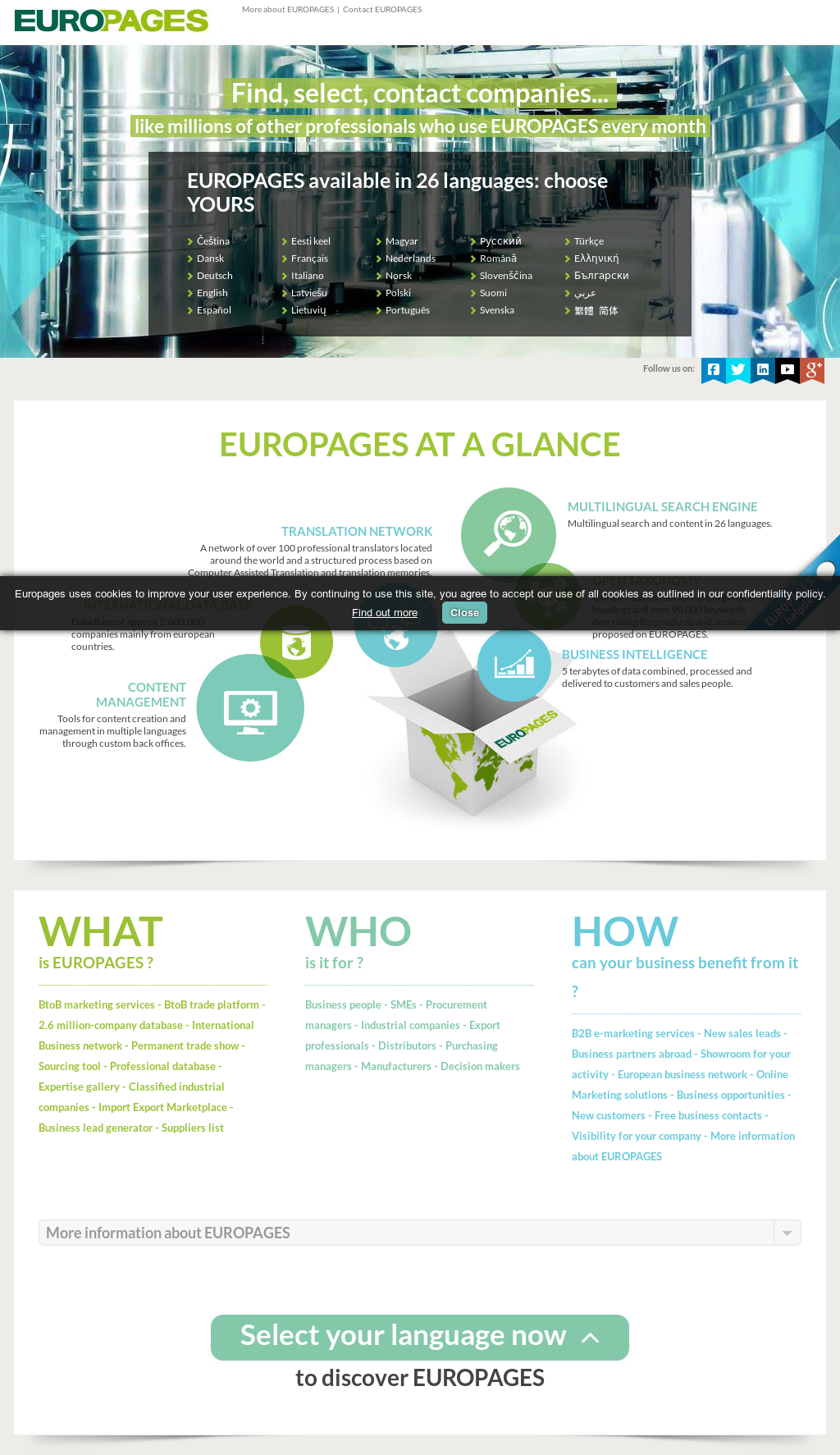 Europages Competitors, Revenue and Employees - Owler Company Profile