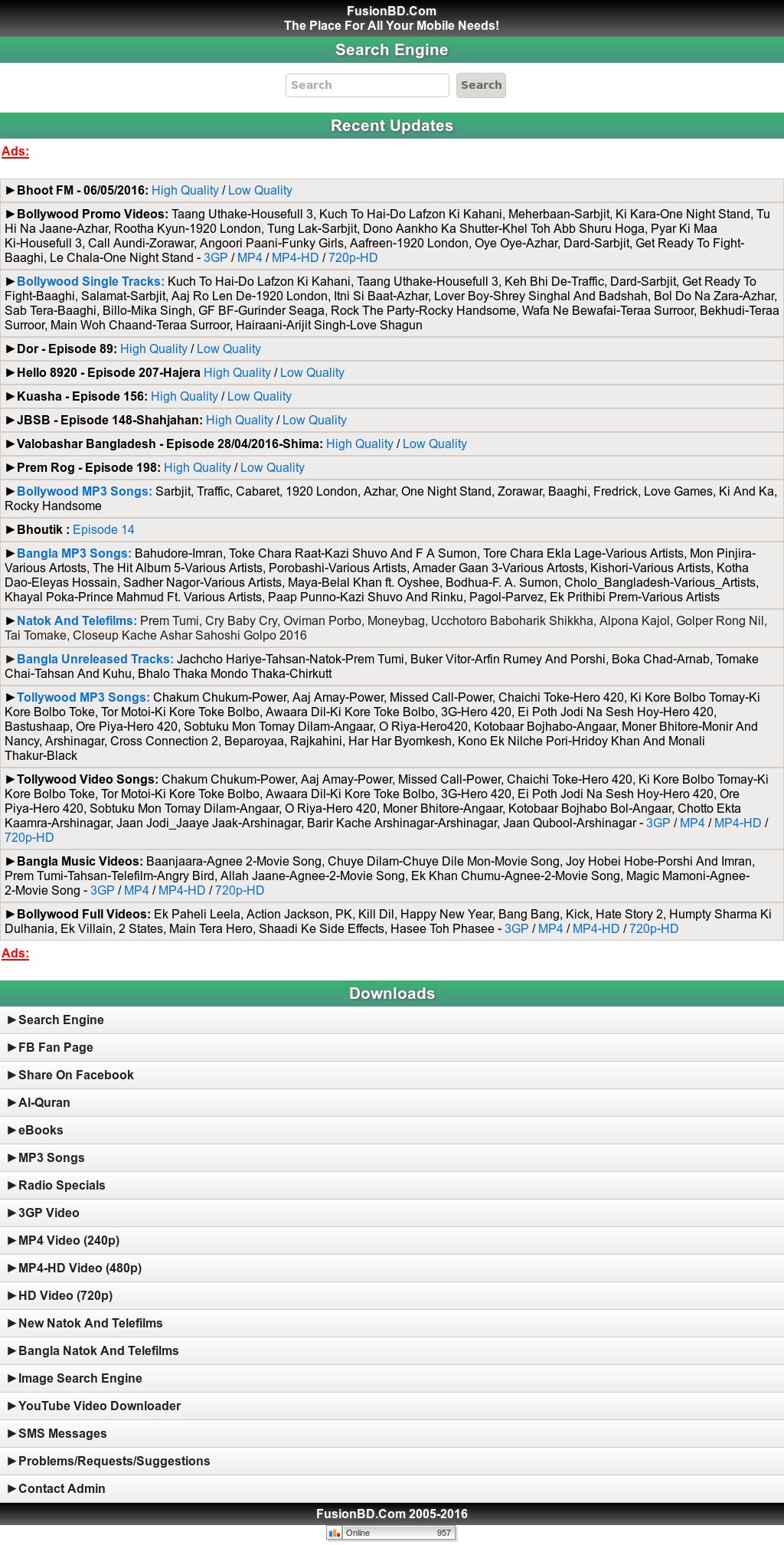 Bhoot Fm 2015 Fusionbd com (Mountain Shadow Gallery)