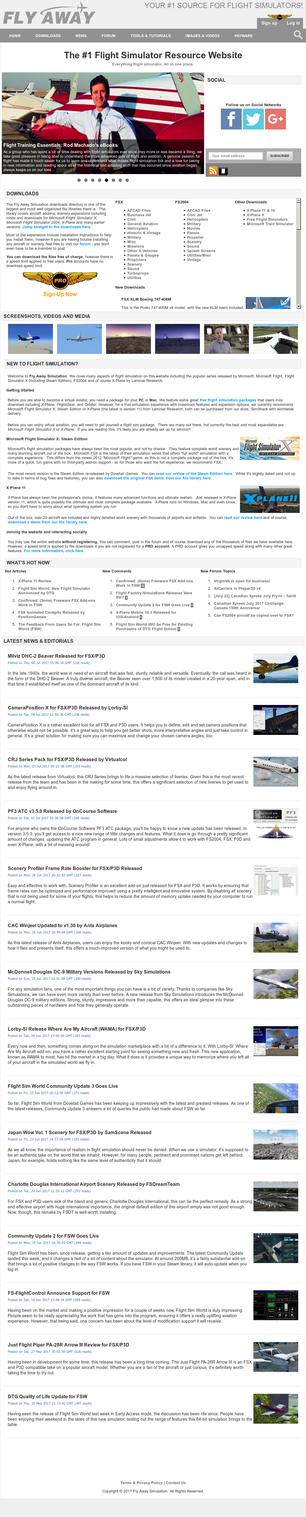 Owler Reports - Press Release: Fly Away Simulation : Fly Away