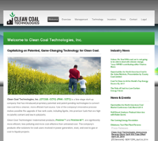 Clean Coal Technologies website history