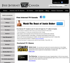 Free Internet Tv Canada Competitors, Revenue and Employees