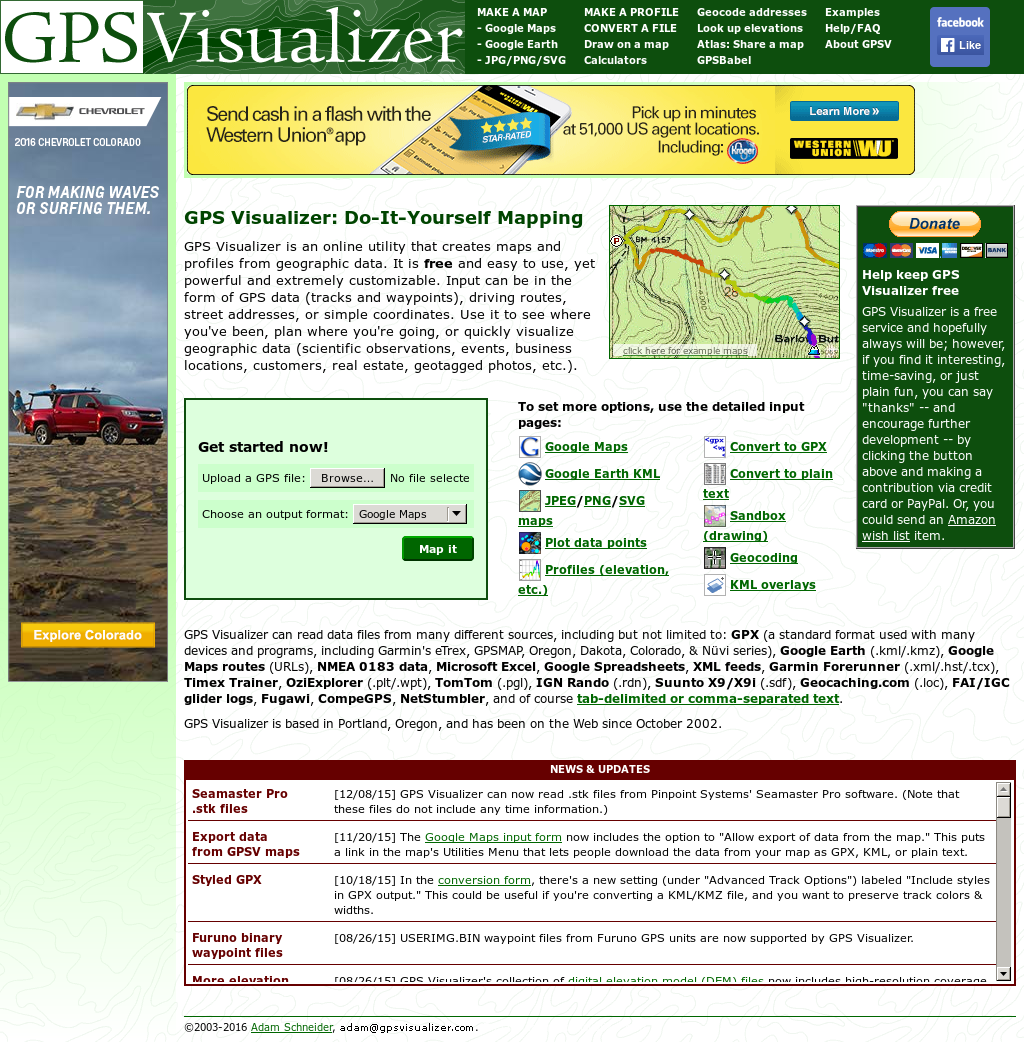Gps Visualizer Competitors, Revenue and Employees - Owler