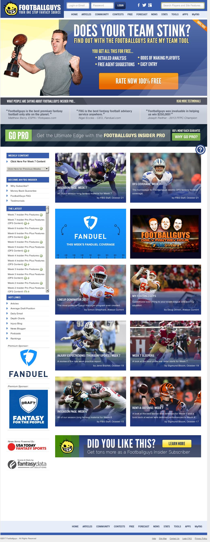 Footballguys Competitors, Revenue and Employees - Owler