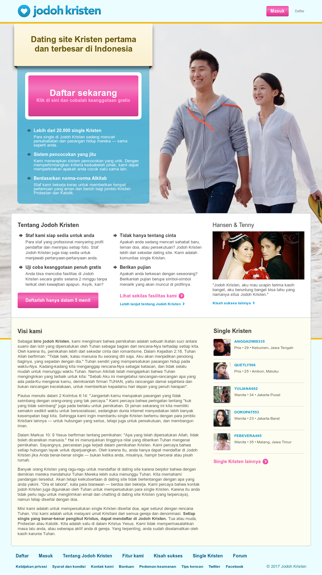 Situs dating online Indonesië gratis snelheid dating Tacoma WA
