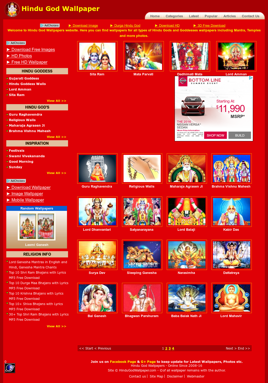 Hindugodwallpaper Competitors, Revenue and Employees - Owler