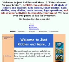 Just Riddles And More   ! Competitors, Revenue and Employees