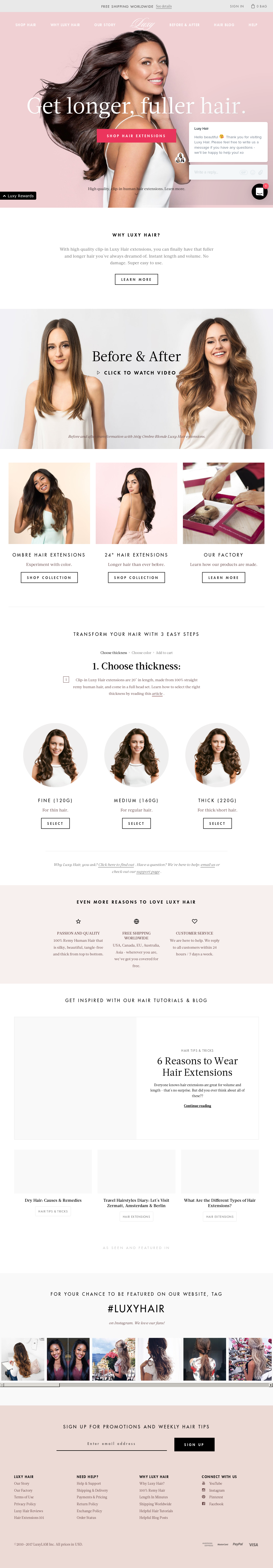 Luxy Hair Competitors Revenue And Employees Owler Company Profile